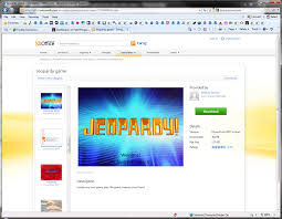 Jeopardy Game Template Making a Jeopardy Game Board in PowerPoint to Supplement Your Light ...