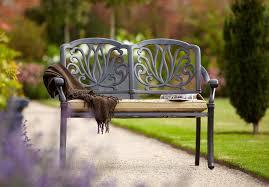 Metal Garden Benches Homebase  Home Outdoor DecorationGarden Metal Bench