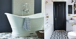 statement bathroom floor tiles