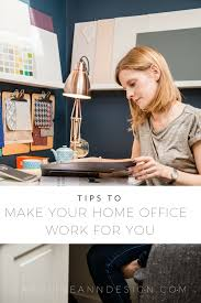working for home office. Tips To Make Your Home Office Work For You Working I