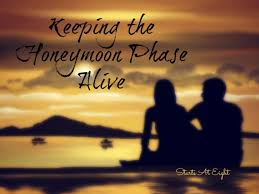 Image result for honeymoon phase of a relationship