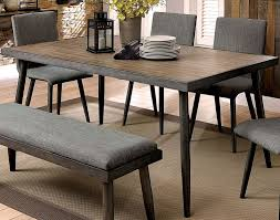 Vilhelm I Gray Rectangular Dining Table