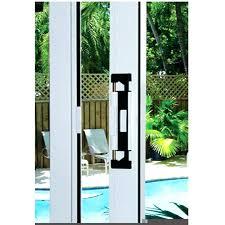 how to install lockit sliding glass door lock saudireiki
