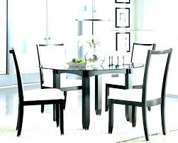 large glass dining table glass top dining table set 4 chairs large glass dining room table