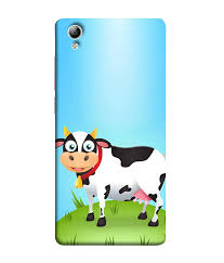 Vivo Y51l Back Cover Designer Sale Amazon Vivo Y51 Vivo Y51l Back Cover Cute Cartoon Cow In Amazon