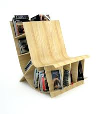 nature inspired furniture. Decoration: Creative Wooden Furniture Bookshelf Interior Contemporary Bookcase Decor Featuring Engineering Wood Circle Shelf With Nature Inspired