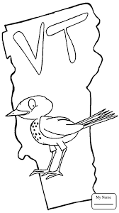 coloring pages State Of Vermont countries cultures vermont ...