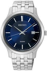 <b>Мужские</b> кварцевые наручные <b>часы Seiko</b> SUR291P1 коллекции ...