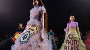 What Fashion Designer Made A Collection For H M Viktor Rolf Made Couture Fashion Statements For The Meme