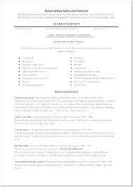 Car Sales Sample Resume Podarki Co