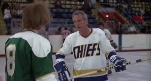 Slapshot Quotes Custom Yarn Anybody Throws Me Against The Boards I'm Gonna Piss All Over