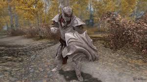 Elven Dragonbone Light Armor Set For Tes V Skyrim