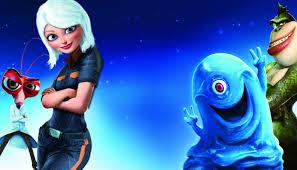 Cartoon Film Monsters Vs Aliens Cartoon Animation Sci Fi Monsters Aliens