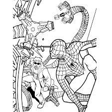 Coole Kleurplaten Boef Spiderman Kleurplaten Kleurplatenpagina Nl