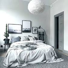 Black White Grey Bedroom White Bedroom Room Grey Themed Rooms For ...