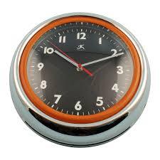 bogart retro wall clock by infinity