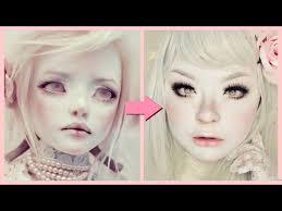 bjd faceup doll makeup tutorial 白塗り メイク 人形 shironuri x bjd faceup series