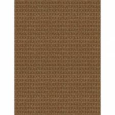 foss checkmate taupe walnut 6 ft x 8 ft indoor outdoor area rug intended