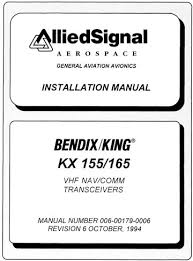 ky 196 197 vhf comm installation maintenance manual ky 196 197 kx 155 165 installation manual