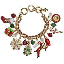 image is loading ritzy couture two strand colored enamel charm