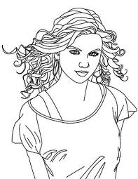 Small Picture Taylor Swift Coloring Pages To Print Coloring Home