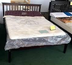 Full Size Wood Bed Frame Image 0 King Size Oak Bed Frame With ...