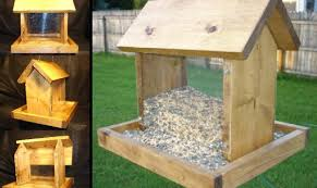 wood bird feeder plans house