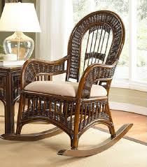 wooden rocking chair with cushion. Modren Rocking How To Choose Rocking Chair With Cushion Sets  Classic Wicker  Cushions Throughout Wooden With A