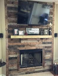 barn board paneling ideas reclaimed wood electric fireplace design i54