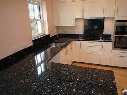 Granite Kitchen Work Tops Black Pearl Granite And White Cabinets Kitchen Granite Ideas