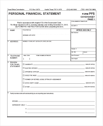 Personal Financial Statement - 9+ Free Excel, Pdf Documents Download ...