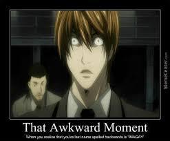 Light Yagami Shocked! by fbfrost - Meme Center via Relatably.com