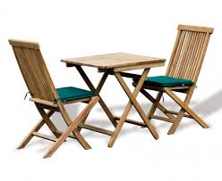 rimini teak outdoor garden table and 2