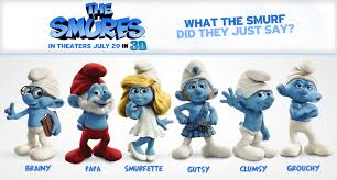 """Smurf Quotes Mesmerizing Leave Your Own Track If I Were A Naughty Smurfette For A Day"""" Oh"""