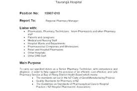 Objective For Pharmacy Resume Pharmacy Technician Resume Objective Mmventures Co
