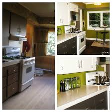 Furniture For Kitchen Cabinets Painted Wood Furniture And Cabinets Before And After Ideas