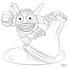 Skylanders Giants Pop Fizz coloring page | Free Printable Coloring ...
