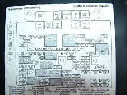 sparky's answers 2004 chevrolet tahoe, rear blower will not turn 2006 Tahoe Fuse Box Diagram the underhood fuse box legend 2006 tahoe fuse box location