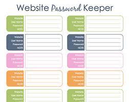 passwords template nice password log template gallery resume ideas bayaar info