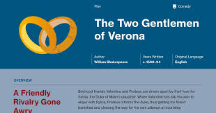 the two gentlemen of verona plot summary course hero