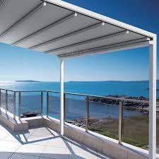 fabric patio covers waterproof. Fine Patio Retractable Canopy Awning Patio Roof On Fabric Covers Waterproof