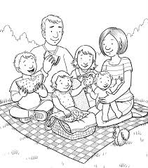 Small Picture Mormon Share Family Picnic Lds primary Lds clipart and