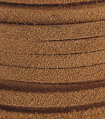 silver creek leather co suede lace 1 8 u0022x25 yards toast