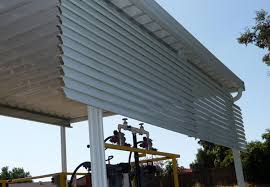 free standing aluminum patio cover. Aluminum Slatted Privacy Screen · Commercial Free Standing Carport Design Patio Cover