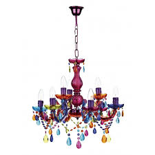 modern multi coloured ceiling chandelier great for girls bedroom ceiling lights and chandeliers