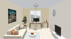 interior design for home office. Animated Images With Various Home Office Design In 3D Interior For