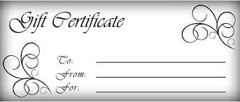 gift certificates templates free printable gift certificate template pictures 3 more