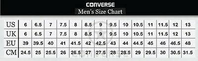 Chuck Taylor All Star Size Chart Www Ceipjuliorodriguez Es