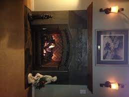 fireplace replacement inefficent wood to high efficiency gas custom fireside