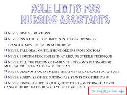 Duties And Responsibilities Of A Cna Nursing Assistant